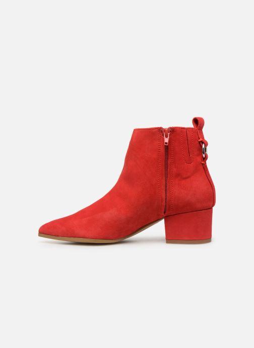 Bottines et boots Steve Madden Clover Ankleboot Rouge vue face