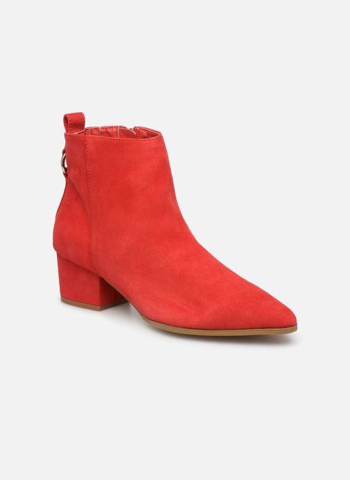 Bottines et boots Steve Madden Clover Ankleboot Rouge vue détail/paire
