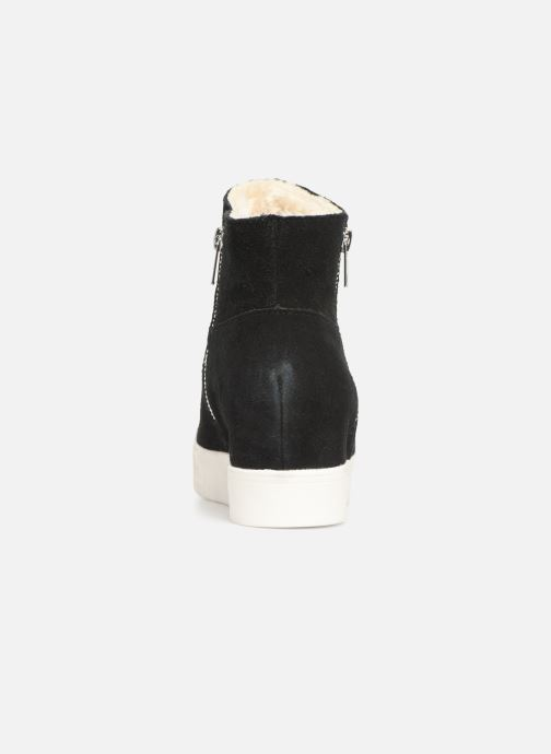 Bottines et boots Steve Madden Wanda Wedge Sneaker Noir vue droite