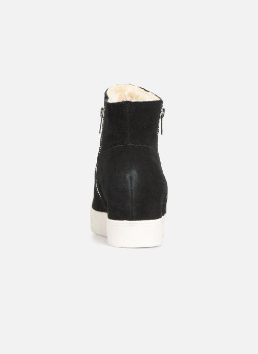 Boots en enkellaarsjes Steve Madden Wanda Wedge Sneaker Zwart rechts