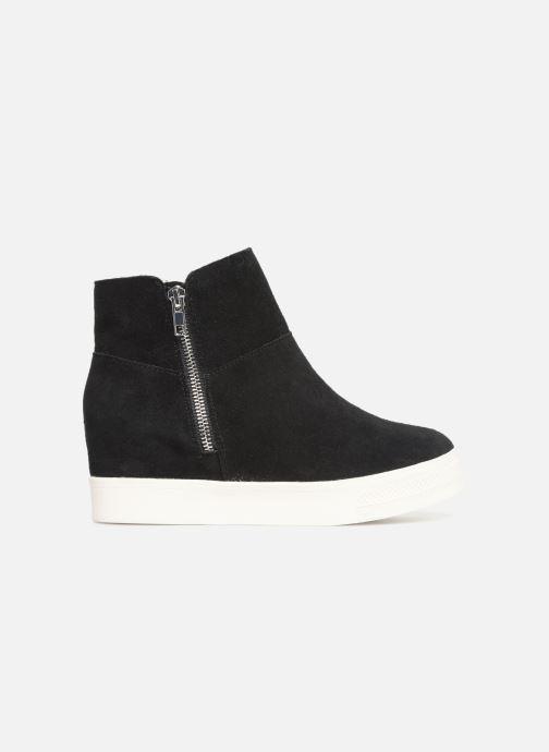 Boots en enkellaarsjes Steve Madden Wanda Wedge Sneaker Zwart achterkant