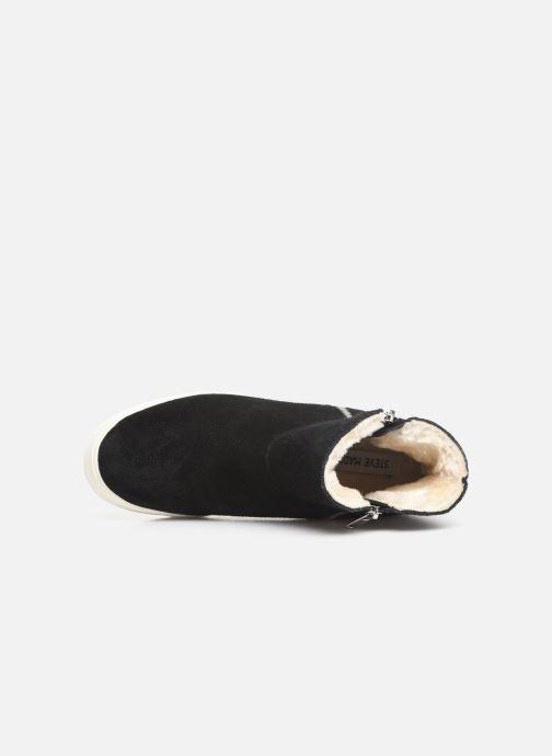 Boots en enkellaarsjes Steve Madden Wanda Wedge Sneaker Zwart links