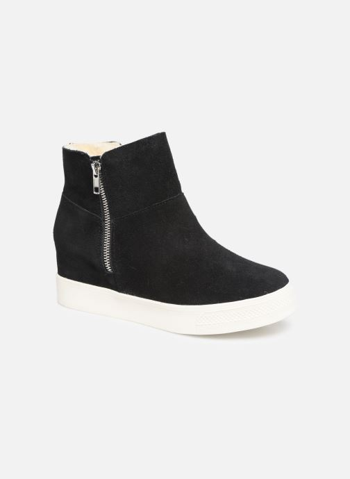 Bottines et boots Steve Madden Wanda Wedge Sneaker Noir vue détail/paire