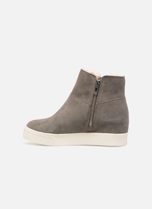 Boots en enkellaarsjes Steve Madden Wanda Wedge Sneaker Grijs voorkant