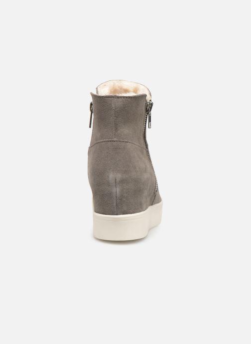 Boots en enkellaarsjes Steve Madden Wanda Wedge Sneaker Grijs rechts