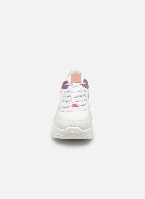 Sneaker Steve Madden Zela weiß schuhe getragen