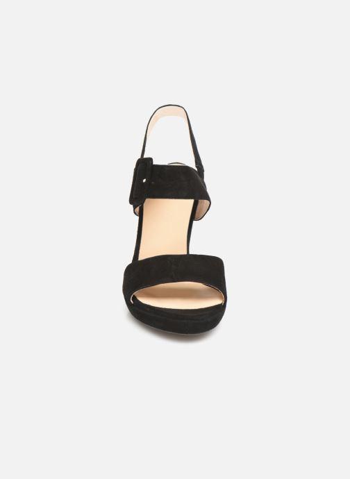 Sandales et nu-pieds Georgia Rose Lybocla Noir vue portées chaussures