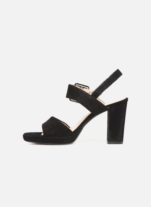 Sandales et nu-pieds Georgia Rose Lybocla Noir vue face
