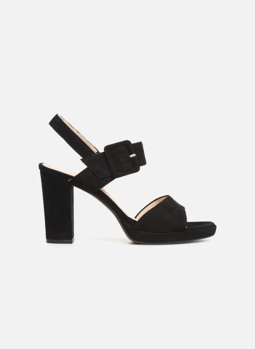 Sandales et nu-pieds Georgia Rose Lybocla Noir vue derrière