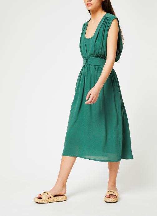 Vêtements Louizon Robe Cassavettes Vert vue bas / vue portée sac