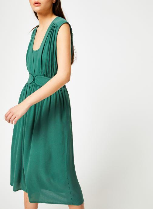 Vêtements Louizon Robe Cassavettes Vert vue droite