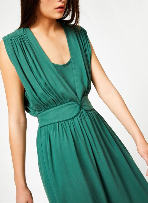 Vêtements Louizon Robe Cassavettes Vert vue détail/paire
