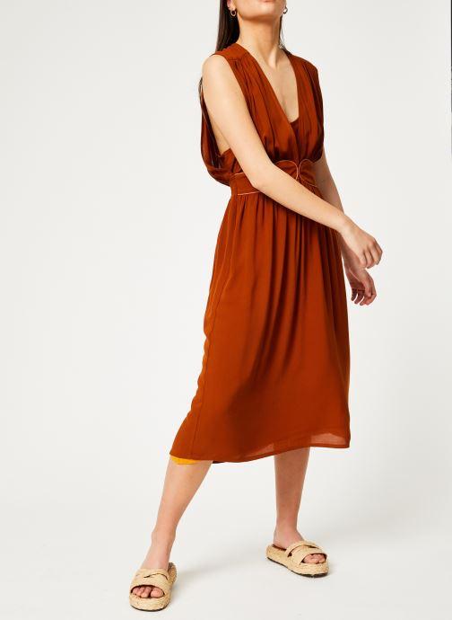 Vêtements Louizon Robe Cassavettes Marron vue bas / vue portée sac