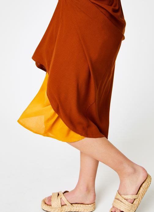 Vêtements Louizon Robe Cassavettes Marron vue face