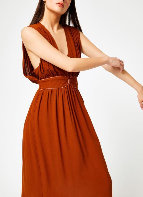 Vêtements Louizon Robe Cassavettes Marron vue droite