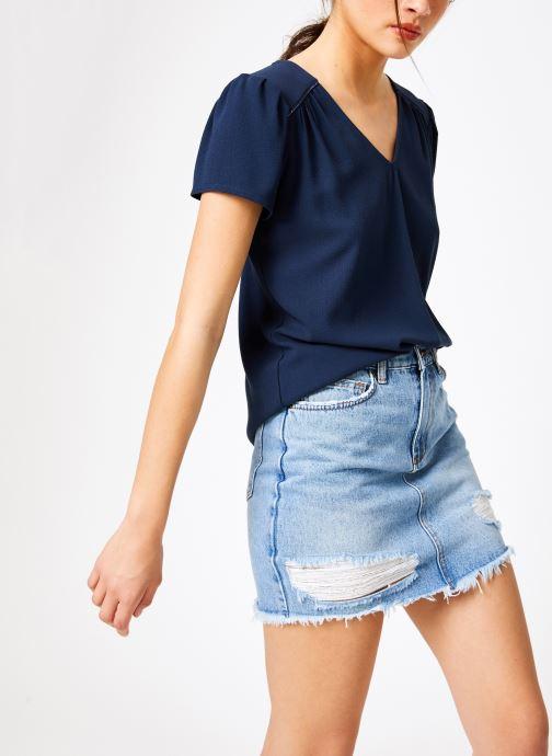 Vêtements Louizon Top Jose Bleu vue droite