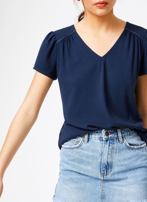 Vêtements Louizon Top Jose Bleu vue détail/paire