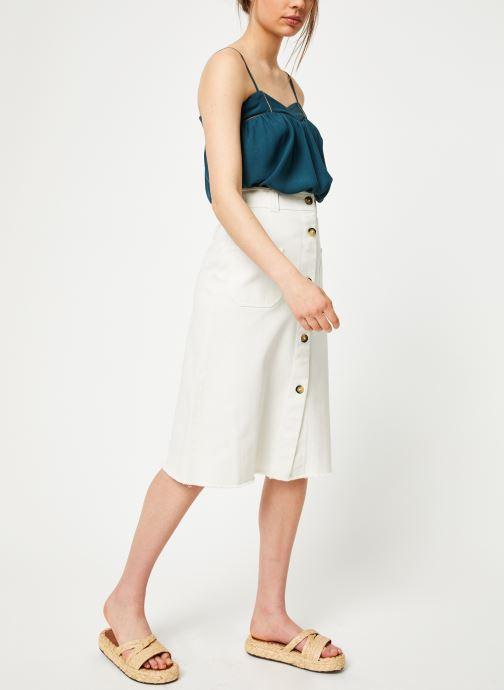 Vêtements Louizon Top Kazan Bleu vue bas / vue portée sac