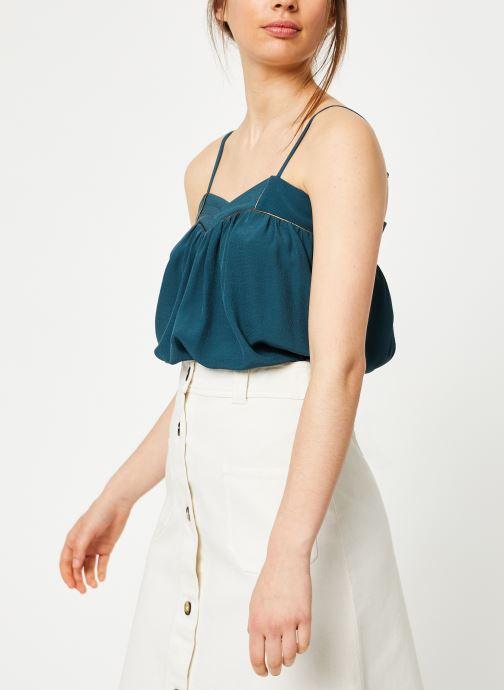 Vêtements Louizon Top Kazan Bleu vue droite