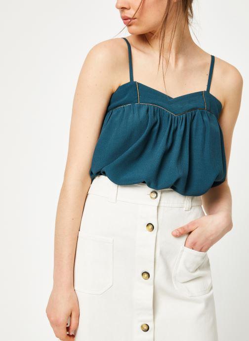 Vêtements Louizon Top Kazan Bleu vue détail/paire