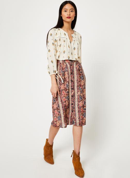 Vêtements Louizon Jupe Bacall Multicolore vue bas / vue portée sac