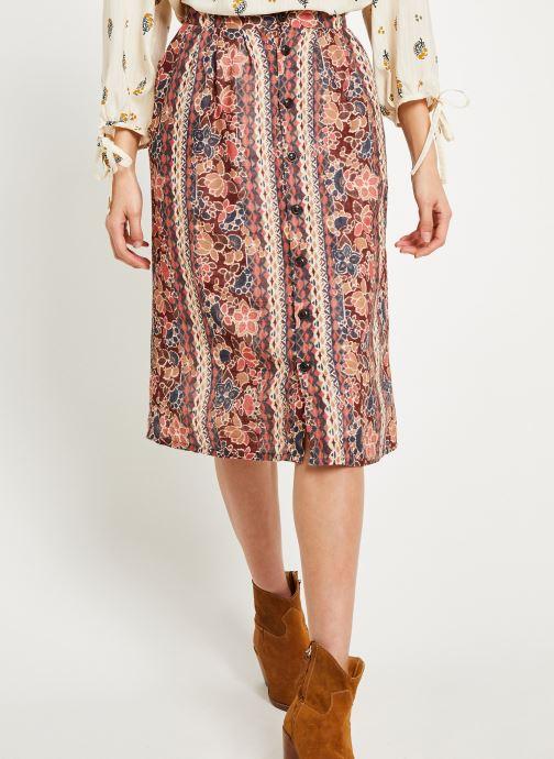 Vêtements Louizon Jupe Bacall Multicolore vue détail/paire