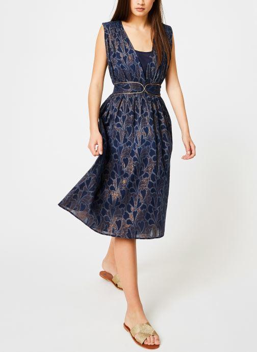 Vêtements Louizon Robe Bucolique Bleu vue bas / vue portée sac