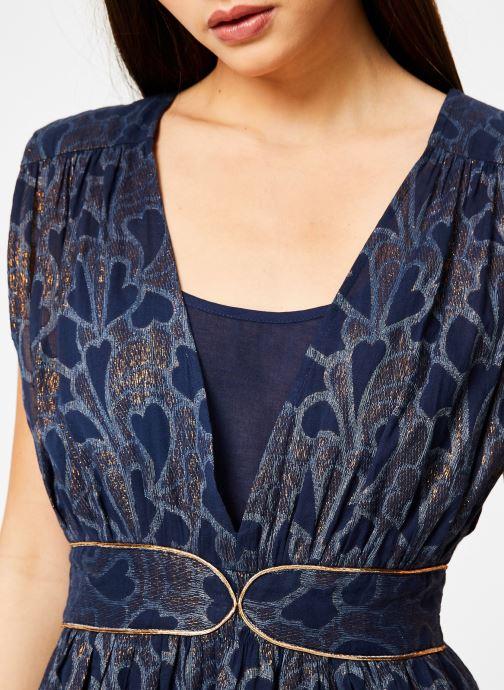 Vêtements Louizon Robe Bucolique Bleu vue face