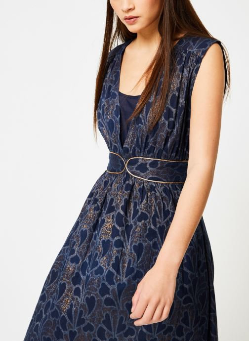 Vêtements Louizon Robe Bucolique Bleu vue droite