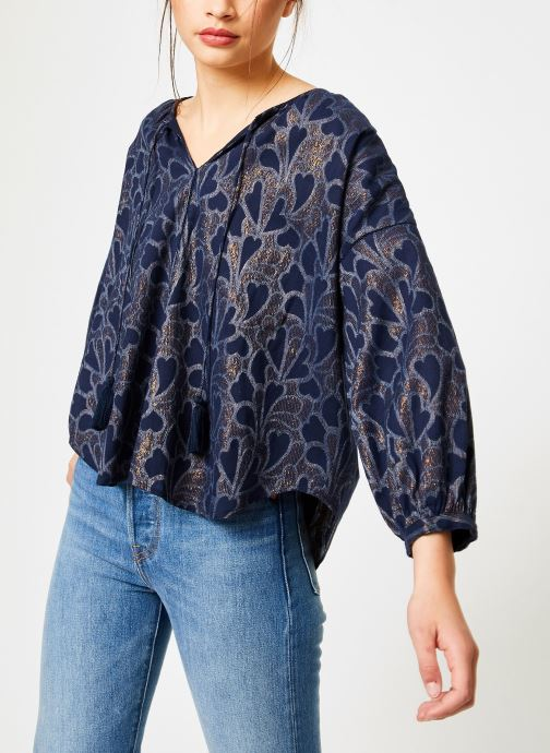 Vêtements Louizon Top Baya Bleu vue droite