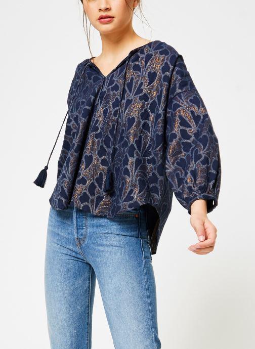 Vêtements Louizon Top Baya Bleu vue détail/paire