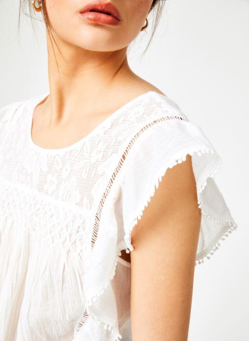 Vêtements Louizon Top Gypset Blanc vue face