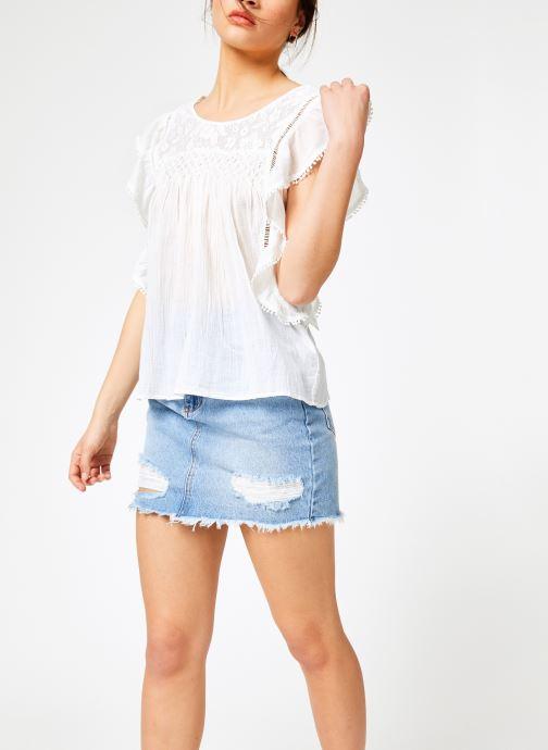 Vêtements Louizon Top Gypset Blanc vue droite