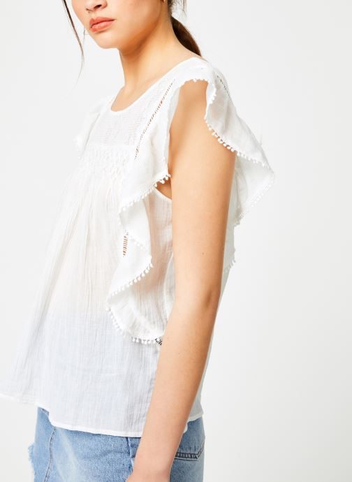 Vêtements Louizon Top Gypset Blanc vue détail/paire