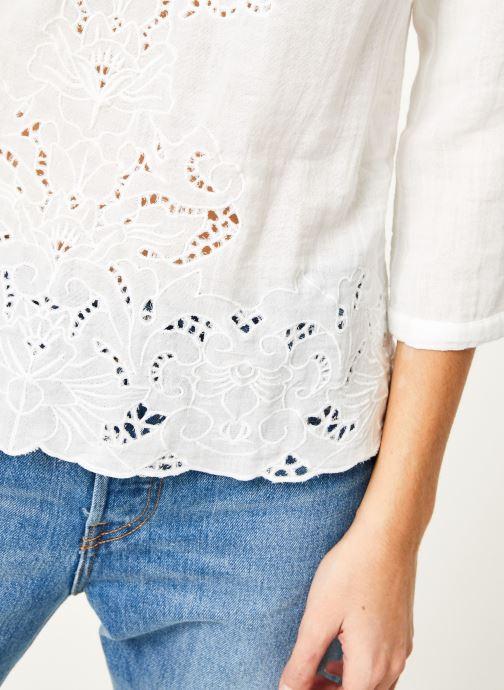 Vêtements Louizon Top Aquarius Blanc vue face