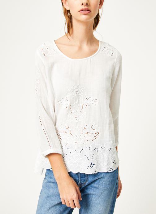 Vêtements Louizon Top Aquarius Blanc vue droite