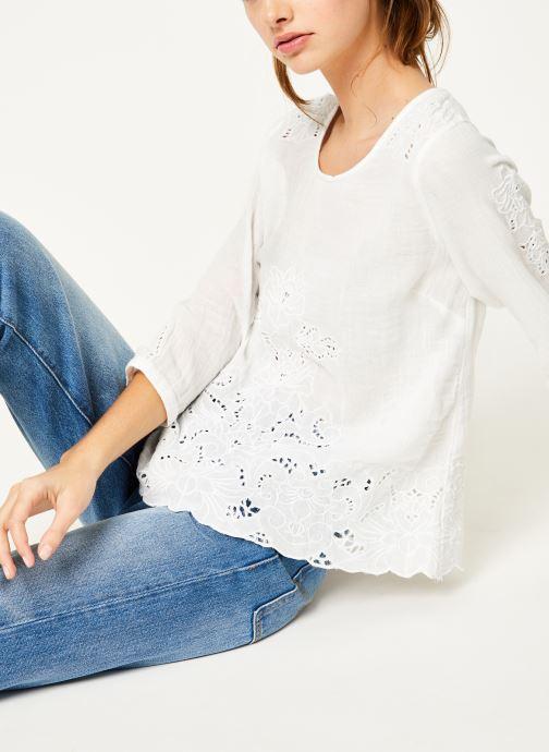 Vêtements Louizon Top Aquarius Blanc vue détail/paire