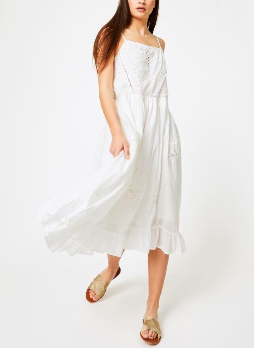 Vêtements Louizon Robe Gerwig Blanc vue bas / vue portée sac