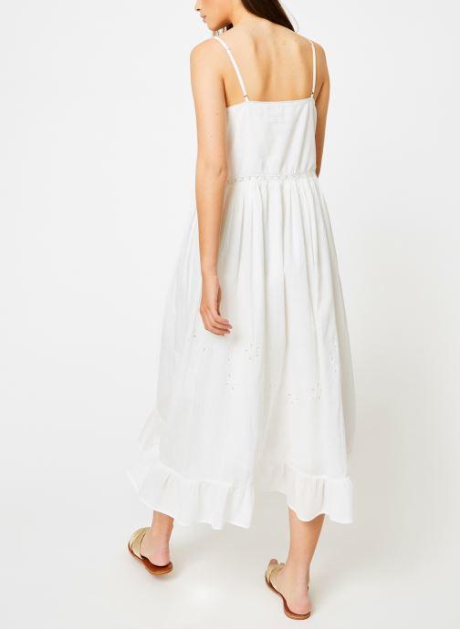 Vêtements Louizon Robe Gerwig Blanc vue portées chaussures