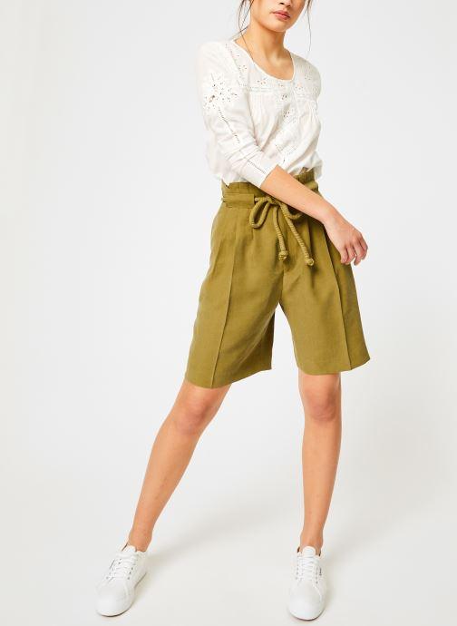 Vêtements Louizon Top Garbo Blanc vue bas / vue portée sac