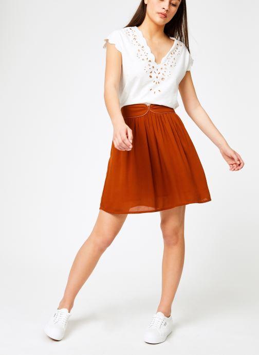 Vêtements Louizon T-shirt Fubay Beige vue bas / vue portée sac