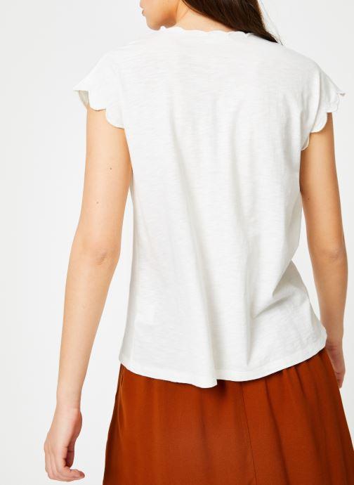 Vêtements Louizon T-shirt Fubay Beige vue portées chaussures