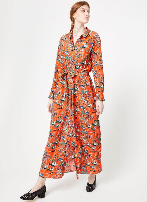 Vêtements Marie Sixtine DRESS MEGANE Orange vue bas / vue portée sac