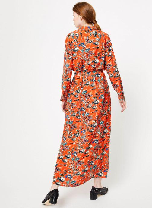 Vêtements Marie Sixtine DRESS MEGANE Orange vue portées chaussures