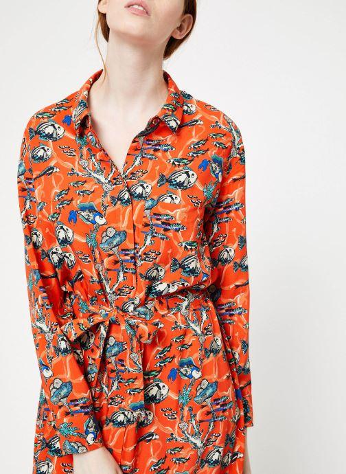 Vêtements Marie Sixtine DRESS MEGANE Orange vue face