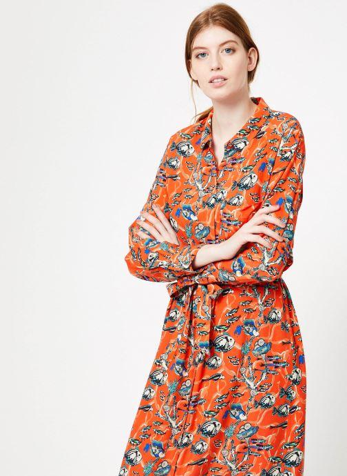 Vêtements Marie Sixtine DRESS MEGANE Orange vue droite
