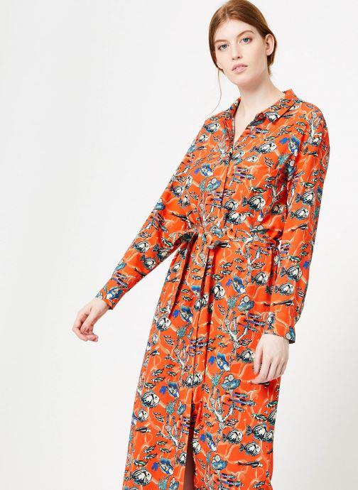 Vêtements Marie Sixtine DRESS MEGANE Orange vue détail/paire