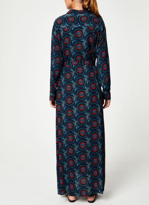 Vêtements Marie Sixtine DRESS MEGANE Bleu vue portées chaussures