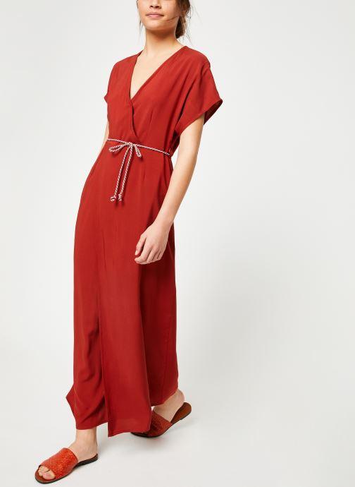 Vêtements Marie Sixtine DRESS NORA Rouge vue bas / vue portée sac