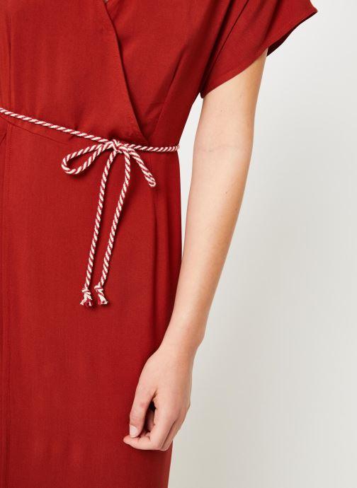 Vêtements Marie Sixtine DRESS NORA Rouge vue face